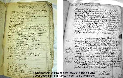 Churchwarden's documents 1655 & 1656