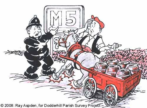 M5 cartoon © Ray Aspden