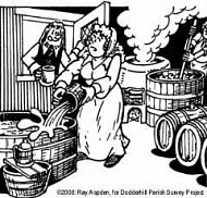 Brewing cartoon © Ray Aspden