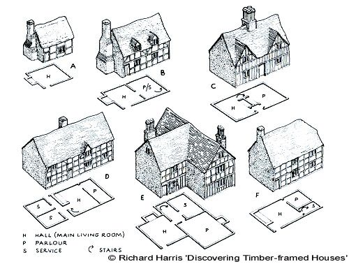 Timber-framed buildings - Richard Harris
