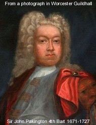 Sir John Pakington