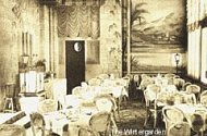Chateau Impney postcard 4 - dining room